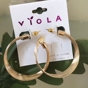 💕Layered Ring Earrings 💕